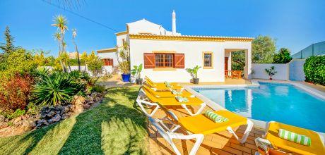 Ferienhaus Algarve Gale 4614 mit privatem Pool für 8 Personen, Strand = 900m, An- und Abreisetag Samstag.
