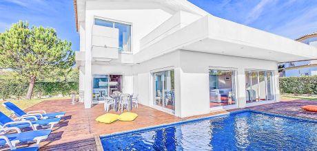 Villa Algarve Albufeira 3013 mit privatem Pool für 6 Personen, Strand = 1,6 km. An- und Abreisetag Samstag, Nebensaison flexibel auf Anfrage. 2019 buchbar.