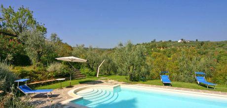 Ferienhaus Toskana Monte San Savino 200 mit privatem Pool für 4 Personen, Wohnfläche 110qm. Vom 09.06. – 09.09.18 Wechseltag Samstag, sonst flexibel.