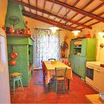 Ferienhaus Toskana TOH200 Küche mit Esstisch