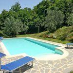 Ferienhaus Toskana TOH200 Pool mit Liegen