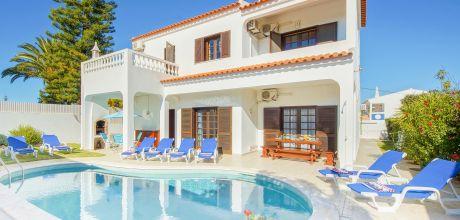 Villa Algarve Castelo 4615 mit privatem Pool und Internet für 8 Personen, Strand = 2 km. Wechseltag Samstag.
