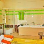 Ferienhaus Kreta KV12283 Bad mit Wanne und Dusche