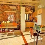 Ferienhaus Kreta KV12283 Esstisch im Wohnbereich