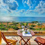 Ferienhaus Kreta KV12283 Meerblick von der Terrasse