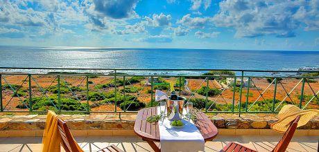 Ferienhaus Kreta mit Pool und herrlichem Meerblick Livadia 12283 für 2 Personen, An- und Abreisetag Dienstag.