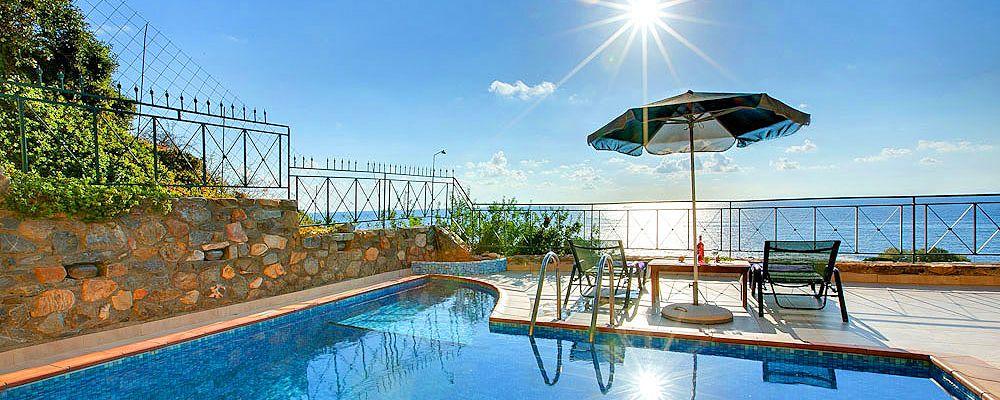 Ferienhaus Kreta KV12283 Swimmingpool mit Meerblick