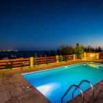 Villa-Zypern-ZYS3739-Poolbeleuchtung-am-Abend