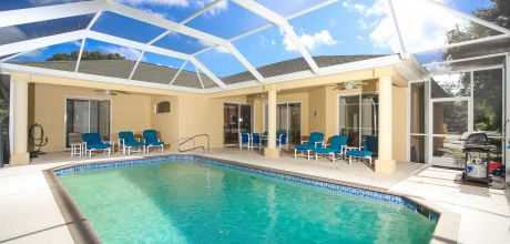 Komfort-Ferienhaus Florida Manasota Beach 42320 mit Pool in Strandnähe (ca. 1,3km), Grundstück ca. 2.000qm, Wohnfläche ca. 250qm. Wechseltag flexibel.