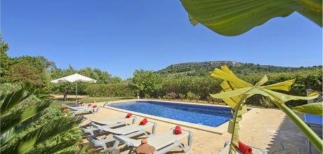 Mallorca Südostküste – Finca Cas Concos MA5657 mit privatem Pool, Grundstück 21.000qm, Wohnfläche 320qm . Wechseltag Samstag, Nebensaison flexibel auf Anfrage – Mindestmietzeit 1 Woche.