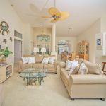 Villa Florida FVE41835 Wohnraum mit TV