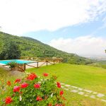 Ferienhaus Toskana TOH401 Garten mit Rasen