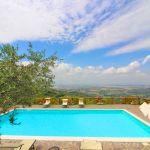 Ferienhaus Toskana TOH401 Pool mit Ausblick