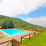Ferienhaus Toskana TOH401 Pool mit Fernblick