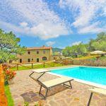Ferienhaus Toskana TOH401 Pool mit Liegen
