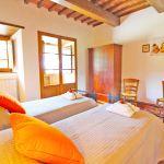 Ferienhaus Toskana TOH401 Schlafraum mit 2 Betten