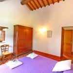 Ferienhaus Toskana TOH401 Schlafraum mit Doppelbett