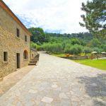 Ferienhaus Toskana TOH401 Terrasse am Haus