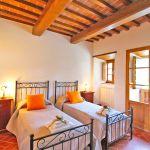 Ferienhaus Toskana TOH401 Zweibettzimmer