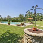 Ferienhaus Toskana TOH630 Garten mit altem Brunnen