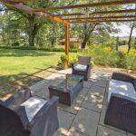 Ferienhaus Toskana TOH630 Gartenmöbel auf der Terrasse