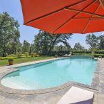 Ferienhaus Toskana TOH630 Sonnenschirm am Pool