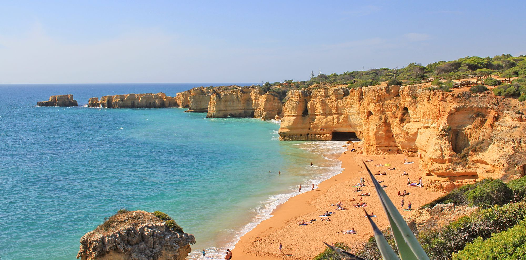 Praia da Coelha - Strand von Coelha 3