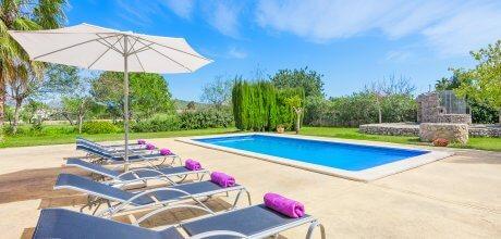 Mallorca Nordküste – Komfort Ferienhaus Pollensa 3612 mit Pool für 6 Personen, Strand 1,1km. An- und Abreisetag Samstag – Nebensaison flexibel auf Anfrage.