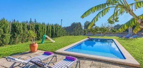 Mallorca Nordküste – Deluxe Ferienhaus Puerto Pollensa 4309 für 8 Personen mit Pool und Internet. Strand = 4,4 km. An- und Abreisetag Samstag.