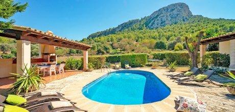 Mallorca Nordküste – Ferienhaus Pollensa 33608 mit Pool und Internet für 6 Personen, Strand = 8 km. An- und Abreisetag Samstag, im Oktober 2019 Anreise flexibel auf Anfrage möglich.