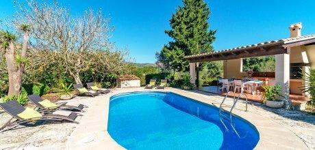 Mallorca Nordküste – Ferienhaus Pollensa 33608 mit Pool und Internet für 6 Personen, Strand = 8 km. An- und Abreisetag Samstag.