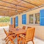 Ferienhaus Mallorca MA53711 Esstisch auf der Terrasse