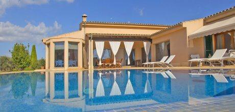 Mallorca Nordküste – Ferienhaus Sa Pobla 3115 für 6 Personen mit privatem Pool, An- und Abreisetag flexibel – Mindstmietzeit 1 Woche.
