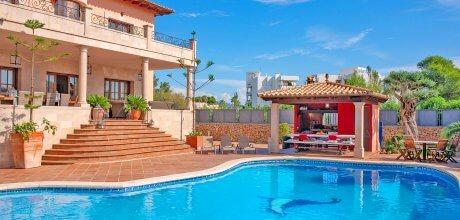 Mallorca Nordküste – Ferienhaus Puerto Pollensa 83572 mit Pool für 16 Personen, Strand = 600m. An- und Abreisetag Samstag.