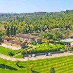 Ferienhaus Toskana TOH17001 Anwesen aus der Vogelperspektive