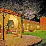 Ferienhaus Toskana TOH17001 Anwesen beleuchte am Abend