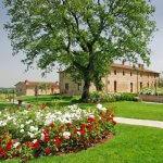 Ferienhaus Toskana TOH17001 Garten mit Blumen