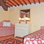 Ferienhaus Toskana TOH17001 Schlafzimmer mit 2 Betten