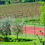 Ferienhaus Toskana TOH17001 Tennisplatz im Garten