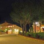 Ferienhaus Toskana TOH17001 mit Abendbeleuchtung