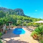 Finca Mallorca MA23607 Blick auf den Pool