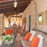 Finca Mallorca MA23607 Gartenmöbel auf der Terrasse
