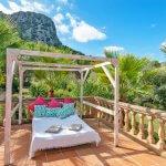 Finca Mallorca MA23607 Sonnenbett auf der Terrasse