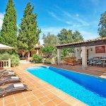 Finca Mallorca MA23607 Sonnenliegen am Pool