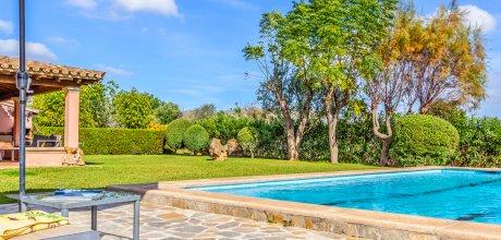 Mallorca Nordküste – Finca Pollensa 4581 für 8 Personen mit privatem Pool und Internet, Strand = 7 km. An- und Abreisetag Samstag.
