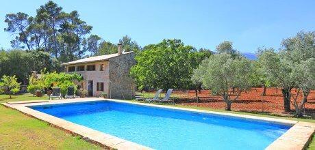 Mallorca Nordküste – Finca Biniamar 3109 mit Pool und Internet für 6 Personen, An- und Abreisetag flexibel – Mindestmietzeit 1 Woche.