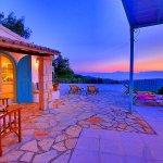 Ferienhaus Korfu KOV22301 Beleuchtung am Abend