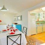 Ferienhaus Korfu KOV22301 Küche mit Esstisch