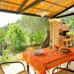 Ferienhaus Korfu KOV22315 überdachte Terrasse mit Meerblick