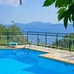 Ferienhaus Korfu KOV22315 Swimmingpool mit Blick auf das Meer